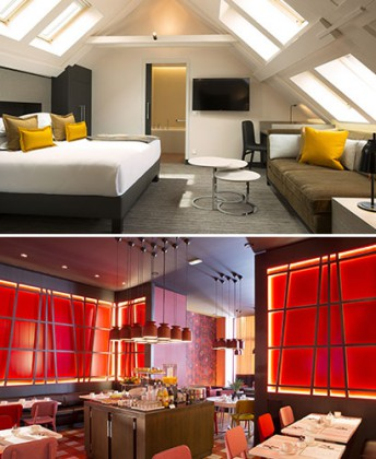 In Strasbourg, Hotel D blends tradition and design. Courtesy of Hotel D