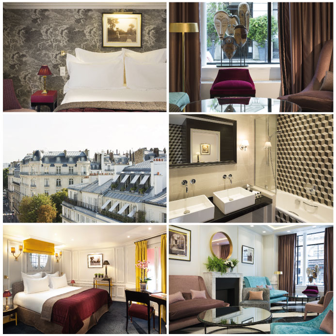 The Saint Valentine Hotels. Hotel Le Bourgogne & Montana: the 'don't ask, don't tell' one. Courtesy of Hotel Le Bourgogne & Montana
