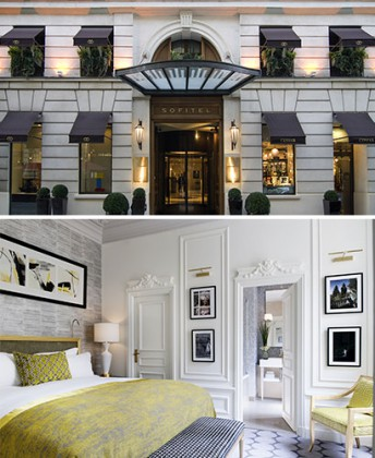 Sofitel le Faubourg: couture in spirit. Sofitel le Faubourg. Courtesy of Sofitel