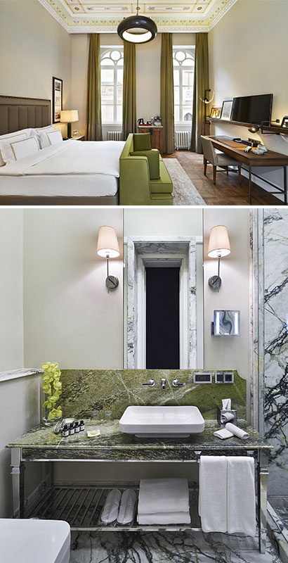 The Vault mixes tradition and design. Courtesy of The House Hotel