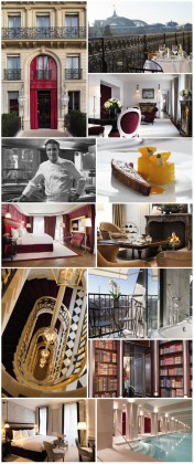 The Saint Valentine Hotels. The Réserve Paris Hotel: the golden triangle one. Courtesy of La Réserve Paris Hotel