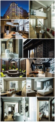 The Saint Valentine Hotels. The Cinq Codet Hotel: the architectural one. Courtesy of Cinq Codet Hotel