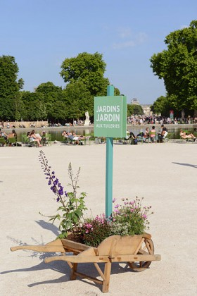 12th Edition of « Jardins Jardin » in the Tuileries © Aude SIRVAIN
