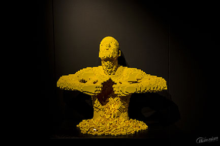 The Art of the Brick, the folly of Lego®