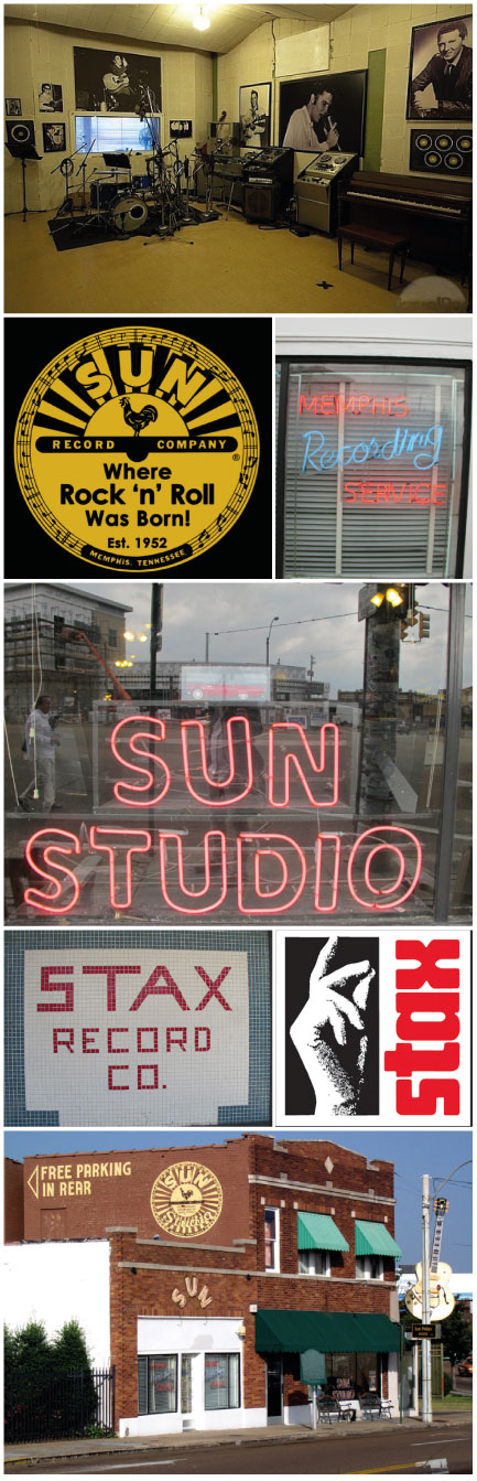 Listen to the 'sound of Memphis' in the city's legendary studios. Studio Music © Ludovic Bischoff