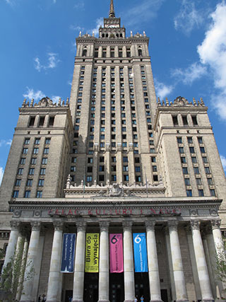 Palace of Culture and Science, Warsaw © Ludovic Bischoff
