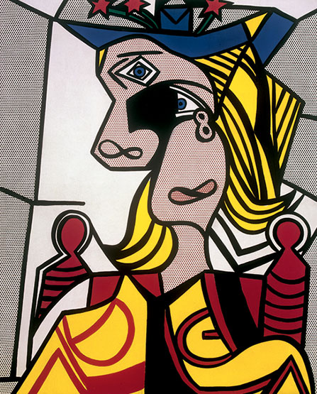 Roy Lichtenstein, Woman with Flowered Hat © Estate of Roy Lichtenstein New York / ADAGP, Paris, 2015@Plume Voyage Magazine