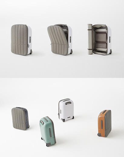 New-generation carry-on bag. Courtesy of Fabbrica Pelletterie in Milan