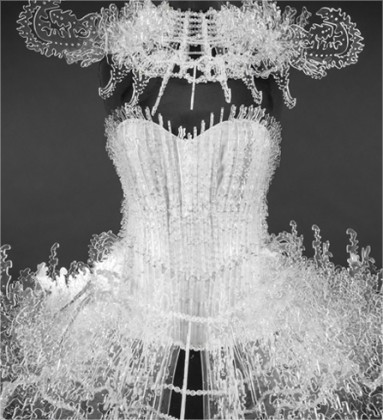 « Sensations by On aura tout vu » at the International Centre of Lace and Fashion, Calais