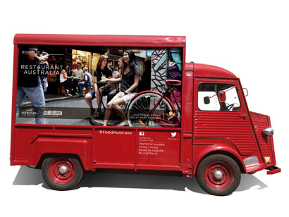 Le Food-Truck Australien, Courtesy Le Food-Truck et Alex
