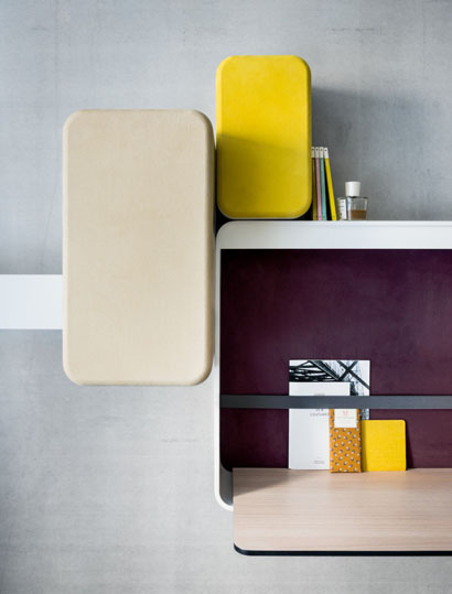 Small Writing Desk par Patrick Norguet, Okko Hotels © Okko Hotels