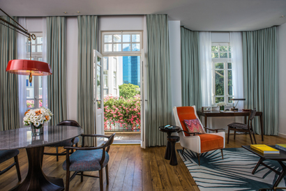 Tel Aviv en mode luxe et volupté. The Norman, Boutique Hotel. Courtesy The Norman