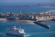 St Malo, Bretagne. Courtesy Brittany Ferries