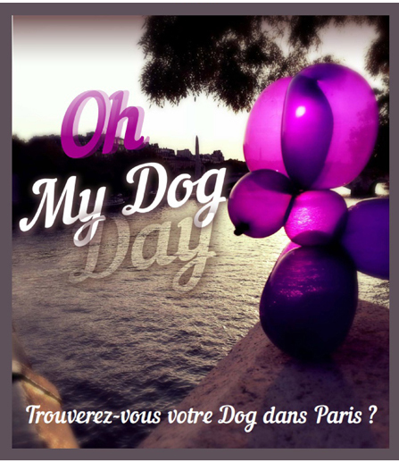 Oh My Dog Day, Expo in the City. Courtesy Expo in the City