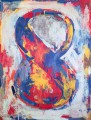 Figure 8 par Jasper Johns, Azimut/h. Continuity and Newness, Peggy Guggenheim Collection. Courtesy Peggy Guggenheim Collection