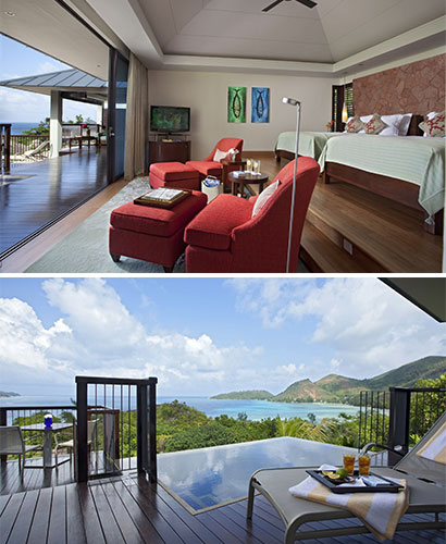 "The Raffles Praslin Seychelles voted ""best hotel of luxury villas in the world"""