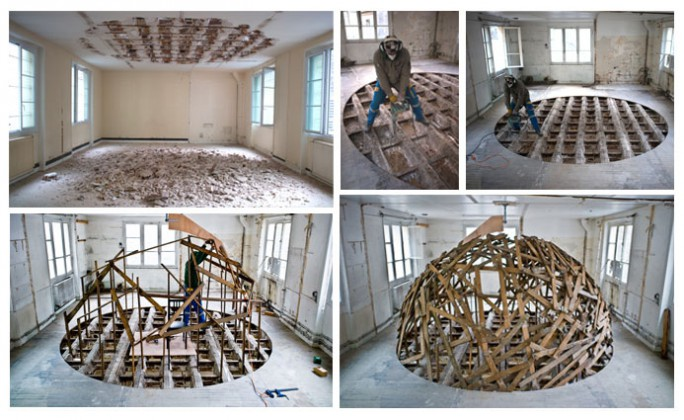 Sambre -Work in progress credits: photo by Stéphane Bisseuil-Courtesy Magda Danysz Gallery