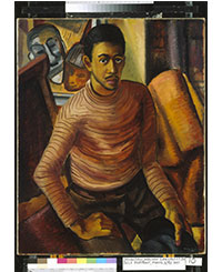 Self Portrait, Malvin Gray Johnson. c'est maintenant septembre 2016 PLUMEVOYAGE @plumevoyagemagazine © Smithsonian American Art Museum, Gift of the Harmon Foundation