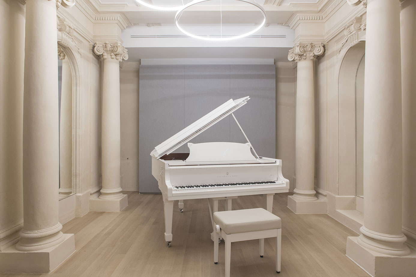 Steinway & Sons opens its showroom in Paris 2017 PLUMEVOYAGE @plumevoyagemagazine © Steinway & Sons