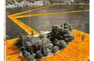 The Floating Piers, Christo. c'est maintenant juin 2016 PLUMEVOYAGE @plumevoyagemagazine Photo André Grossmann © Christo