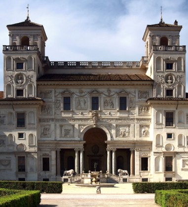 © Académie de France in Rome, Villa Medici, photo G. Causati, P. Zagami, 2009