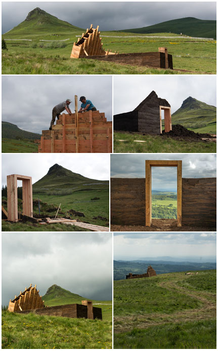 Horizons Art Nature in Sancy, Alterburon, © Collectif Dérive