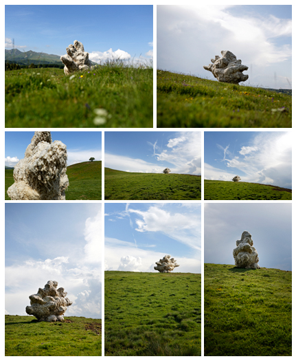 Horizons Arts Nature Festival in Sancy, Cloud by Yuhsin U Chang, © Ludovic Bischoff