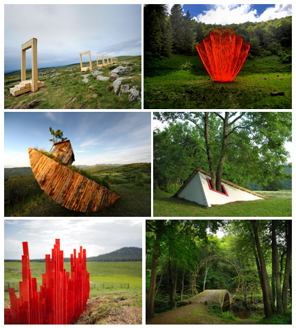 Horizons Arts Nature Festival in Sancy, Selection of Photos from 2009 to 2013 Editions, © Ludovic Bischoff