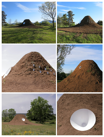 Horizons Arts Nature Festival in Sancy, Cry of the Earth by Gaëtan Robillard and Isabelle Daéron, © I Daéron & G Robillard
