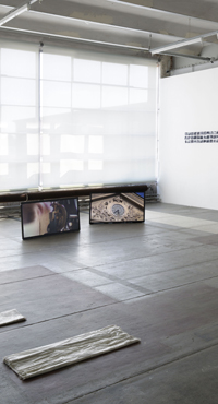 « Estefania Penafiel Loaiza – l'espace épisodique – et Benoît-Marie Moriceau – Rien de plus tout du moins » at Credac, Ivry. Courtesy the artist and Galerie Alain Gutharc