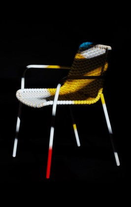 Strapped Chair by Moustache at Bon Marché Rive Gauche, Paris