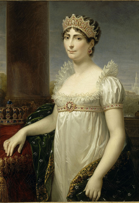 Portrait of the Empress Josephine (1763-1814), dressed as Queen of Italy, Andrea Appiani of Aone (1754-1817), (C) RMN-Grand Palais (musÈe des chateaux de Malmaison et de Bois-PrÈau) / GÈrard Blot