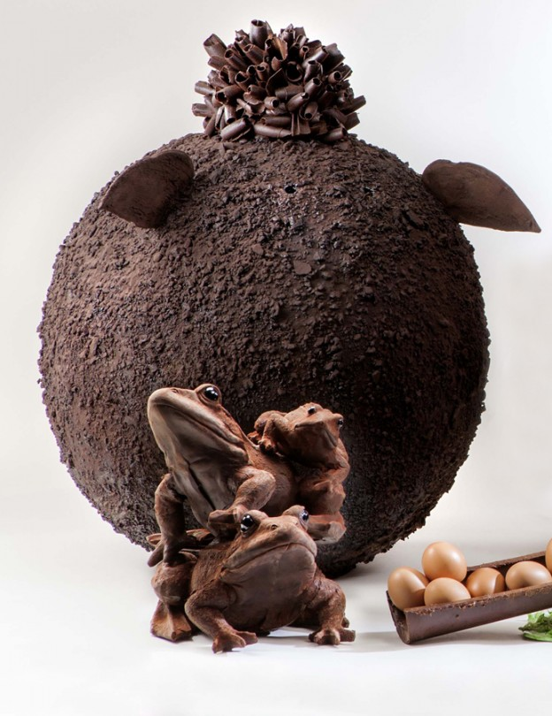 Patrick Roger, monumental chocolate sculptures