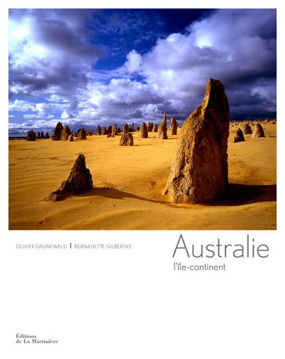 Australia, the island continent by Bernardette Gilbertas, photography by Olivier Grunewald. Courtesy of Editions de la Martinière