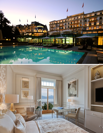Beau-Rivage Palace Lausanne, Courtesy of Beau-Rivage Palace Lausanne