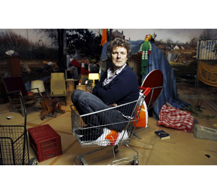 Michel Gondry in Tokyo. Courtesy of Museum of Contemporary Art Tokyo