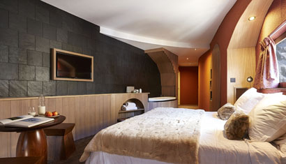 Avoriaz takes it to the next level, Les Dromonts Hotel. Courtesy of Les Dromonts Hotel