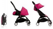 Flying Stroller. YOYO pink by BabyZen. Courtesy of BabyZen