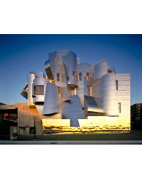 Frank Gehry and Frederick R. Weisman, Art and Teaching Museum, 1990-1993, 2000-2011 (completed), Minneapolis. © Don F.Wong