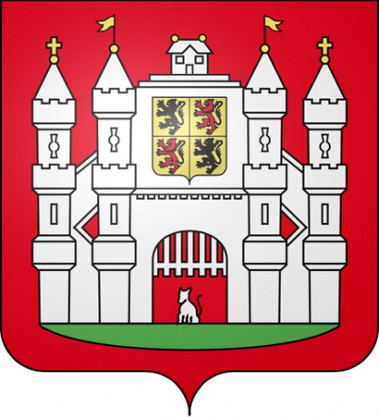 Mons 2015 with Routard. Routard Guide. Mons, Coat of Arms.