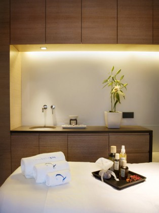 Spa Cabin, Majestic Hotel & Spa Barcelona. Courtesy of Hotel Majestic