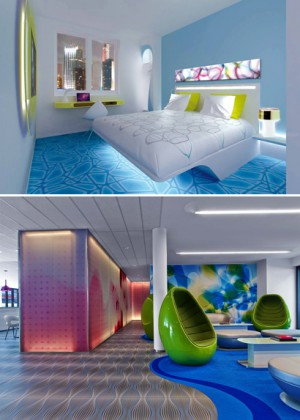 Prizeotel Hambourg City. Courtesy of Prizeotel