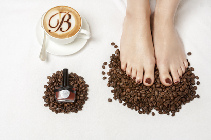 CappucinTOE pedicure at Brown's Hotel. Courtesy of Rocco Forte Hotels