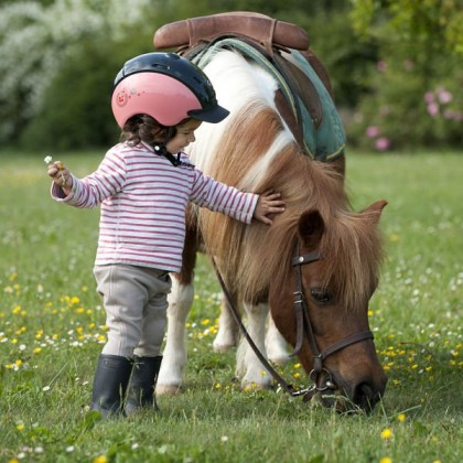 A riding club for baby riders near Poitiers