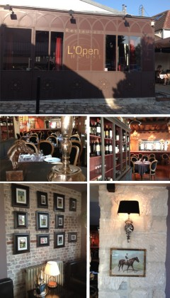 From left to right and top to bottom ©Plume, Photo 1: Outside the restaurant , 2,3, 4 and 5: Inside the restaurant