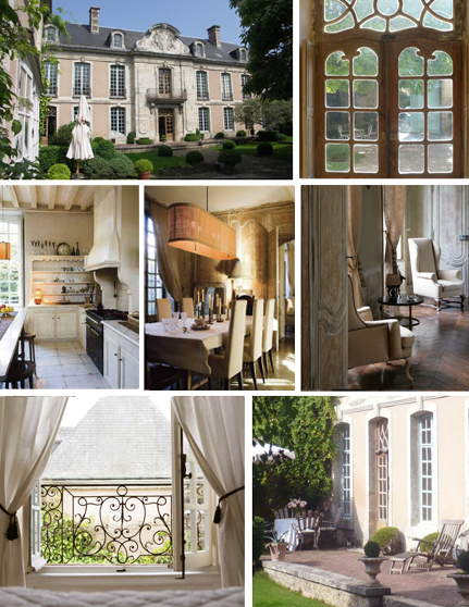 Photo 1: Outside the hotel, 3 and 4: kitchen and restaurant, 5 and 6: bedroom, 7: terrace ©Hôtel des Tailles