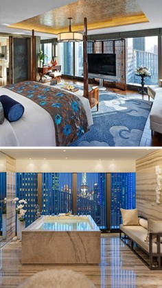 Mandarin Oriental Pudong, the new luxury address in Shanghai