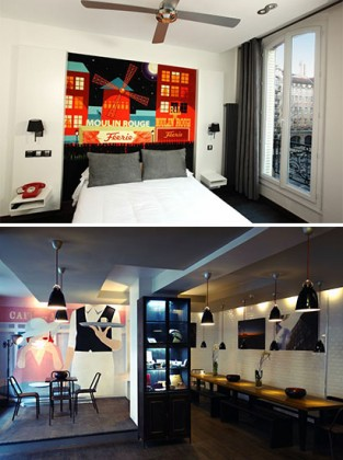 Enjoy Paris with your children at the Hotel des Arts Bastille