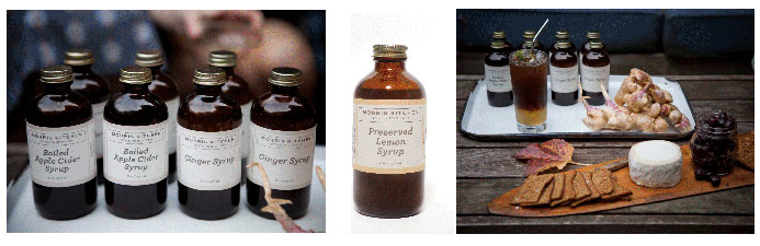 Maple syrup from Morris Kitchen