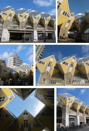 """From top to bottom and left to right: Photos 1, 2, 3, 4, 5 and 6: Cube Houses © Ludovic Bischoff"